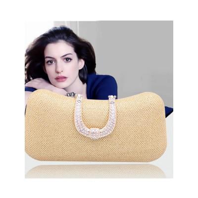 Mini Diamante de imitación Pillow Fiesta/Bolsos de Noche