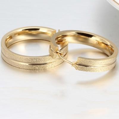 Wonderful Oro Plata de Ley 925 Aretes